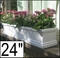 "24"" Supreme Petite Fiberglass Window Box"