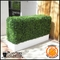 Boxwood Fire Retardant Artificial Hedge in Modern Planter 24in.L x 12in.W