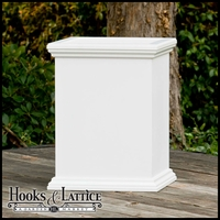 24in. Laguna Premier Deck Planter - 18in. W x 24in. H