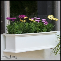 24in. Laguna Self-Watering Fiberglass Window Box