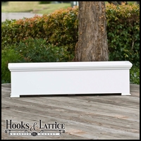 24in. Newport Premier Deck Planter w/ Feet 12in. W x 12in. H