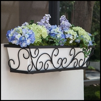 24in. Regalia Decora Window Box w/ PVC Liner