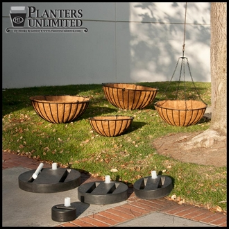 24in. Round Planter Well Reservoir