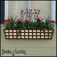 24in. Santiago Decora Window Box w/ Real Copper Liner