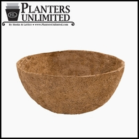 24in. XL Mega Hanging Basket Replacement Liner - Coco Coir