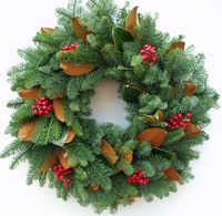 "25"" Jolly Christmas Wreath"