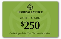 $250 Hooks and Lattice Gift Certificate