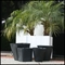 "26"" Round Self Water Planter Inserts - Fits in 30"" Pot"