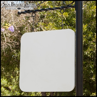 "26"" x 26"" Radius-Corner Square Sign Blank"