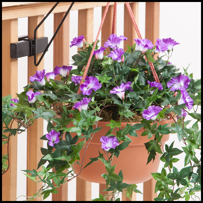 Outdoor Artificial Morning Glory Vines Artificial Plants