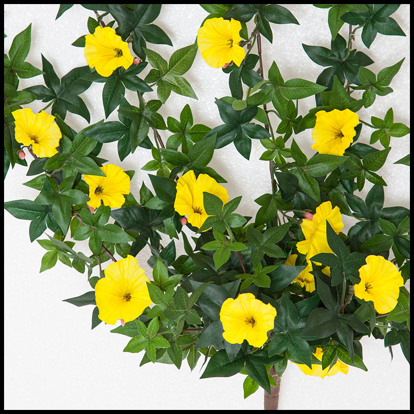 26in morning glory vine indoor rated yellow click to enlarge mightylinksfo
