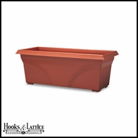 "27"" Medallion Deck Planter"