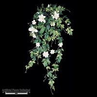 28in. Clematis Vine - Cream/White|Indoor - NFR