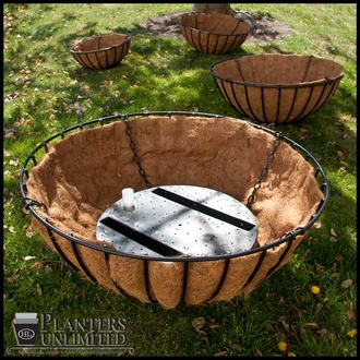 28in. Round Planter Well Reservoir