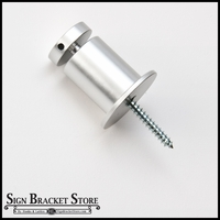 "3/4""x 1.0"" w/ Base Satin Aluminum Stand-Off"