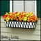 "30"" Arch Decora Window Box with White Galvanized Liner"