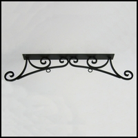 "30"" Bordeaux Ceiling Mount Sign Bracket"