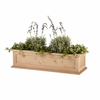 30in. Cedar Framed Cottage Window Box