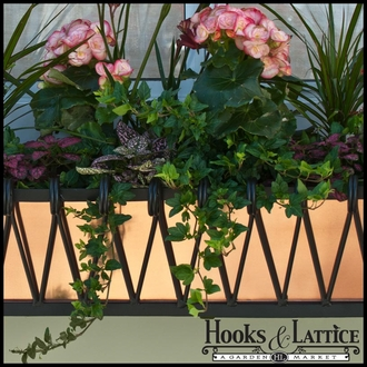 "30"" Del Mar Decora Window Box w/ Real Copper Liner"