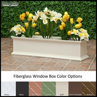 "30"" Del Sol Fiberglass Window Box"
