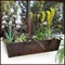 30in. Galvanized Window Box - Bronze