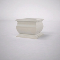 "30""L x 30""W x 24""H  Villagio Square Planter"