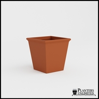 Tuscana Tapered Fiberglass Commercial Planter 30in.L x 30in.W x 30in.H