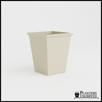 Tuscana Tapered Fiberglass Commercial Planter 30in.L x 30in.W x 36in.H