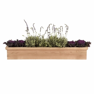 30in. Newport Cedar Window Box