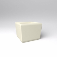 "30"" Square x 24""H Naples Square Planter"