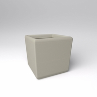 "30"" Square x 30""H Naples Square Planter"
