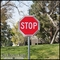 30in Extruded Alum. Stop Sign Frame