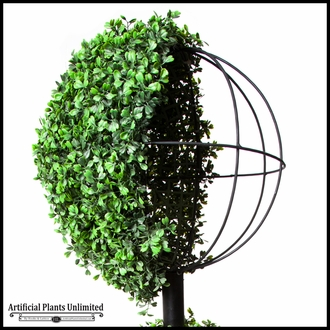 30in. Indoor Boxwood Topiary Ball