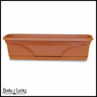 30in. Medallion PVC Window Box or Liner