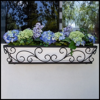 72in. Regalia Decora Window Box w/ (2) Vinyl Liners