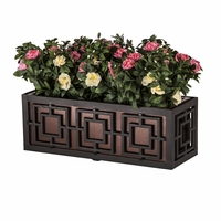 30in. Sofisticato Aluminum Window Box