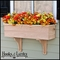 30in. Traditional Wood Planter Box