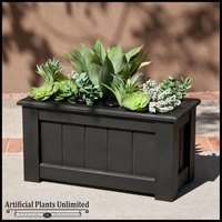 "32"" Coronado Premier Planter with Artificial Assorted Succulents"