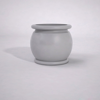 "34"" Dia. x 30""H Abbey Round Planter"