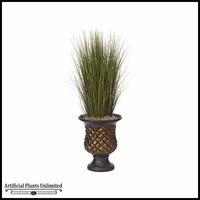 35in. PVC Onion Grass - Green|Indoor