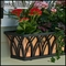"36"" Arch Decora Window Box  w/ Real Copper Liner"