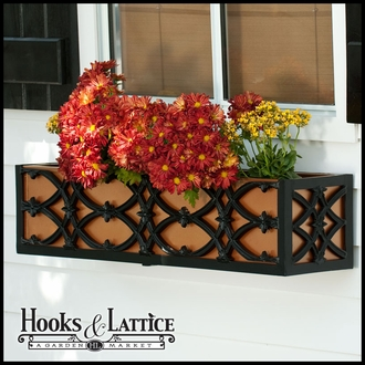 "36"" Baton Rouge Aluminum Window Box"
