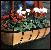 "36"" Copper Classic Window Box"