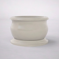 "36"" Dia. x 24""H Round Villagio Planter"