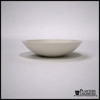 "36""Dia. x 9""H Modern Low Bowl Planter"