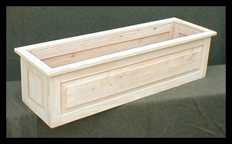 "36"" Framed Panel Planter"