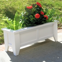 "36"" Hampton Premier Deck & Patio Planter -Tall"