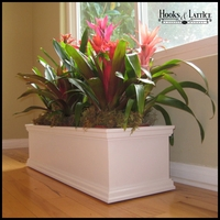 36in. Laguna PVC Composite Planter on Caster Wheels