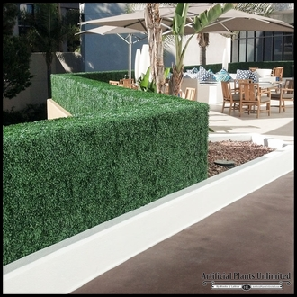 Boxwood Outdoor Artificial Hedge 36in.L x 12in.W