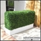 Boxwood Outdoor Artificial Hedges with Modern Planters 36in.L x 12in.W